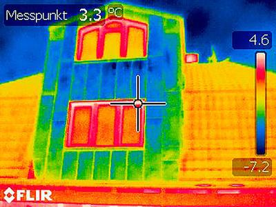 Thermografische Aufnahmen - Beispiel 03