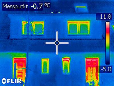 Thermografische Aufnahmen - Beispiel 04