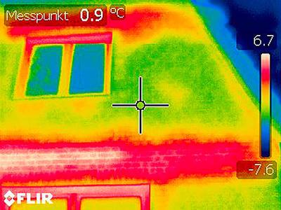 Thermografische Aufnahmen - Beispiel 02