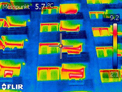 Thermografische Aufnahmen - Beispiel 01