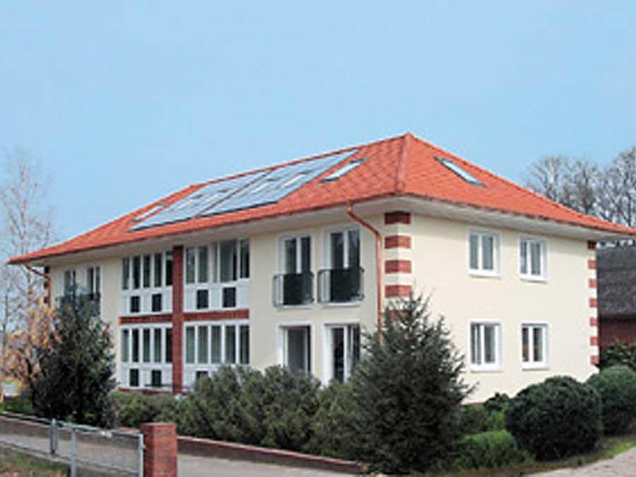 """Sanierung eines 4- Familienhauses auf """"3-Liter""""-Standard"""